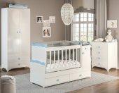 Büyüyen Bebek Odası Takımı Mavi (Gece Lambalı)