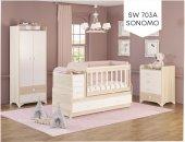 Swing Büyüyen Bebek Odası Takımı Somon