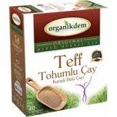 Teff Tohumlu Karışık Bitki Çayı Organikdem 40...