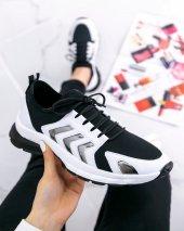 Riani Beyaz Cilt Spor Ayakkabı