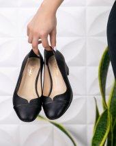 Shana Siyah Cilt Topuklu Ayakkabı