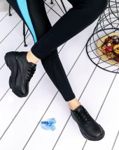 Jare Siyah Cilt Spor Ayakkabı