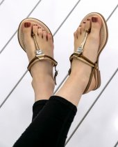 Tennie Rose Cilt Sandalet-3