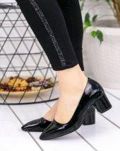 Sever Siyah Rugan Topuklu Ayakkabı-3