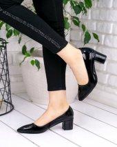 Sever Siyah Rugan Topuklu Ayakkabı-4