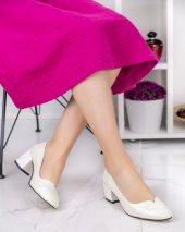 Shana Sedef Cilt Topuklu Ayakkabı