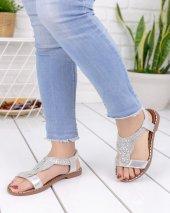 Malani Gümüş Cilt Sandalet-4