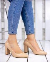 Patti Vizon Cilt Topuklu Ayakkabı