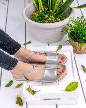 Marina Gri Sandalet-2