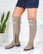 Geomar Vizon Süet Çorap Çizme
