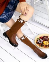 Donzeli Taba Cilt Çorap Çizme