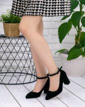 Greta Siyah Süet Topuklu Ayakkabı-2