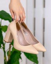 Gianna Camel Cilt Topuklu Ayakkabı
