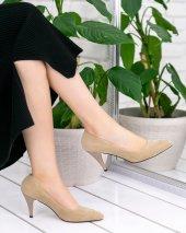 Helena Vizon Süet Stiletto Ayakkabı