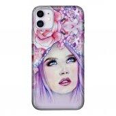 iPhone 11 6.1 inc Kılıf Desenli Esnek Silikon Telefon Kabı Kapak - Miss.World