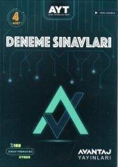 Avantaj Yayınları AYT 4 lü Deneme Sınavı