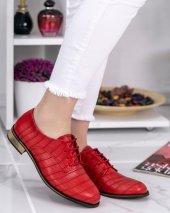 Rosalia Kırmızı Cilt Oxford Ayakkabı