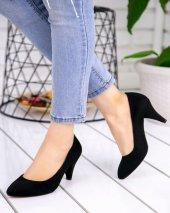 Randi Siyah Süet Topuklu Ayakkabı-2