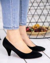 Randi Siyah Süet Topuklu Ayakkabı-3