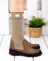 Donzeli Vizon Cilt Çorap Çizme