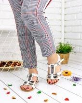 Susan Beyaz Cilt Sandalet