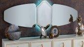 Mondi Ferra Gümüşlük Konsol Büfe Aynası...