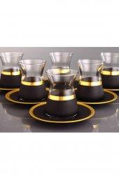 Fantasia Serra Varaklı 6 Kişilik Çay Bardak Takımı