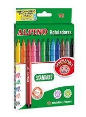 Alpıno 12 Renk Keçeli Kalem Ar 1002