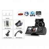 Araç Kamerası Full HD 1080p GPS DestekliAngelEye KS-524-3