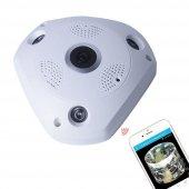 Angeleye Ks 607 Panoramik Balık Gözü 360 Derece Hd Tavan Tipi Kablosuz Ip Kamera