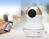 AngelEye KS-514 360º Full HD Kablosuz Ev ve Bebek iP Kamera Çift Antenli-2