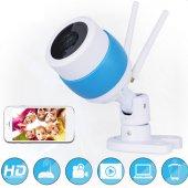 AngelEye KS-513 SD Slot HD Gece Görüşlü Çift Antenli Kablosuz IP Kamera-4