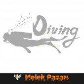 Dalış, Diving Oto Sticker-4
