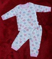 Badebaby Kız Çocuk Pijama Takımı 1 4 Yaş Arası