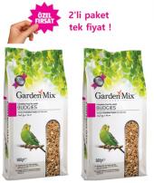 Gardenmix Platin Seri Muhabbet Kuş Yemi 500 Gr X 2 Adet