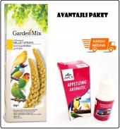 Garden Mix Platin Sarı Dal Darı 150 Gr & Apex...