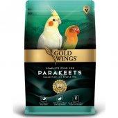 Gold Wings Premium Paraket Sultan Cennet Papağanı Yemi 1kg