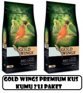 Gold Wings Premium Mineralli Kuş Kumu 350 Gr X...