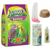Jungle Muhabbet Kuşu Yem Ve Bakım Seti 400 Gr