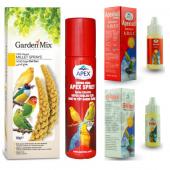 Kuşlar İçin Gardenmix Dal Darı Ve Apex Sağlık...