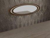Mondi Porto Gümüşlük Konsol Büfe Aynası Dekoratif Aynalar