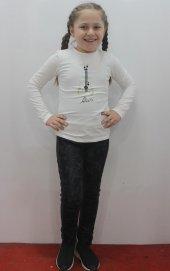 Edel Weiss 21078 Kız Çocuk Deri Tayt Pantolon