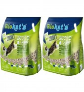 Biokats Biokat's Pelet Kedi Kumu Eco Light 5 Litre 2'li