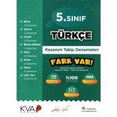 KVA 5. Sınıf Türkçe Fark Var Kazanım Takip Denemeleri