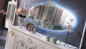 Mondi Mabel Gümüşlük Konsol Büfe Aynası...