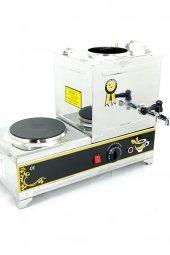 çay Kazanı 10 Lt. Çay Makinesi 15 Model Elektrikli Kahveci Ocağı