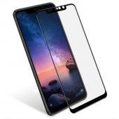 Xioami Note 6 Pro Siyah Kırılmaz Cam Ekran...