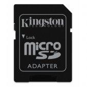Micro Sd Hafıza Kart Adaptörü Kingston Hafıza...