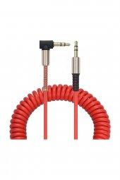 3.5 mm Jack Aux Araba Telefon Stereo Ses Bağlantı Kablosu-3