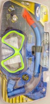 Bermuda Maske Şnorkel Set Hortumlu Deniz Gözlüğü 2317a 121